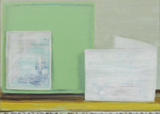 Artists, Lisa Hoever, Untitled, 2014. Oel auf Leinwand, 50 x 70 cm, Exhibition 2014