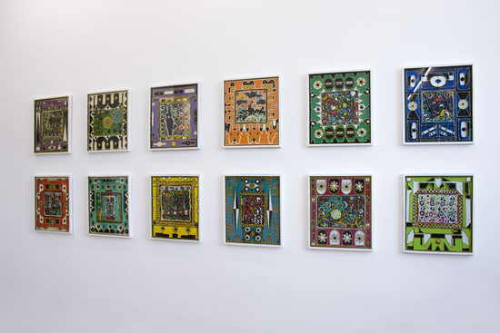 K&uuml;nstler, Claude Sandoz, o. T., At Diamond und Fond Jay, Soufri&egrave;re, St. Lucia, West-Indies (montiert in Luzern),<br />